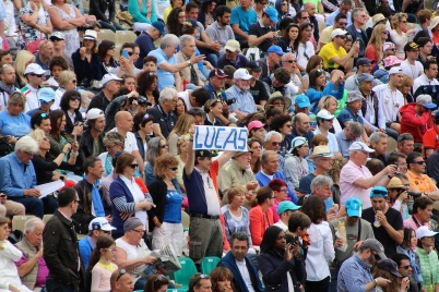 A fan of Lucas Pouille (France) @CelinaLafuenteDelavotha