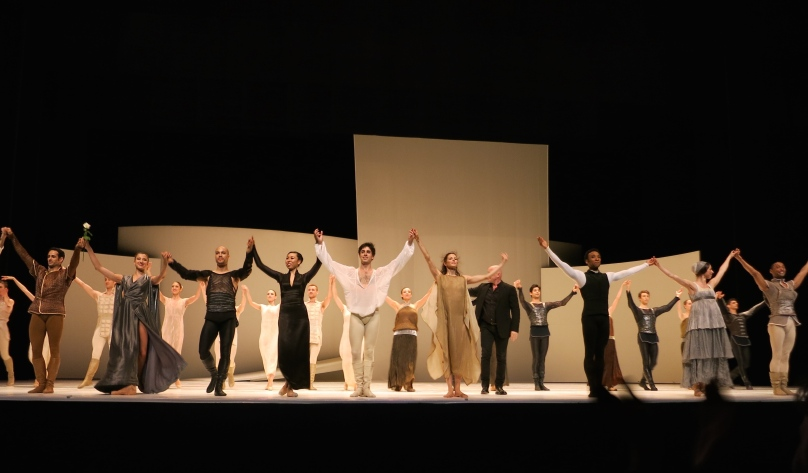 Curtain call for Rome and Juliet Apr.16, 2015 @CelinaLafuenteDeLavotha