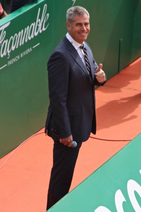 Marc Maury, International sports commentator MCRM 2015 @CelinaLafuenteDeLavotha