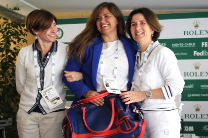 Press Tennis Tournament prize @CelinaLafuenteDeLavotha