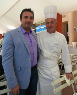 Chef Ronan Kervarrec and Chef Alain Cavanna