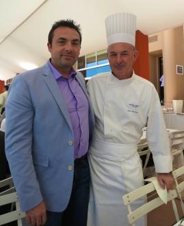 Chef Ronan Kervarrec and Chef Alain Cavanna