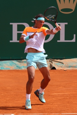 Spaniard Rafael Nadal Apr.17, 2015