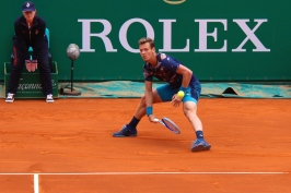 Tomas Berdych in the final at MCRM Apr 19, 2015 @CelinaLafuenteDeLavotha
