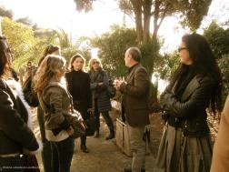 Mary McGuckian (far right) was part of our private tour of E1027 in January 2012 @CelinaLafuenteDeLavotha