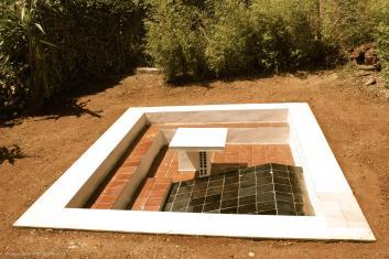 Sunken table in the garden @CelinaLafuenteDeLavotha 05/2015