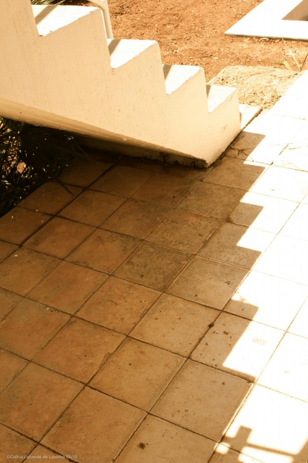 Light and shadow reflections on the ground @CelinaLafuenteDeLavotha 05/2015