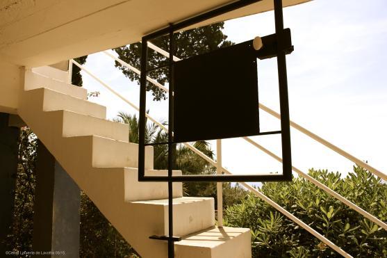Stairs gate at E1027@CelinaLafuenteDeLavotha 05/202015.JPG