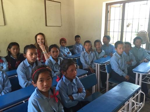 Donatella Campioni with school's children@MAP