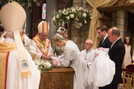 Princess Charlene with Prince Jacques during the baptism, May 10, 2015 @Michel Danino-5