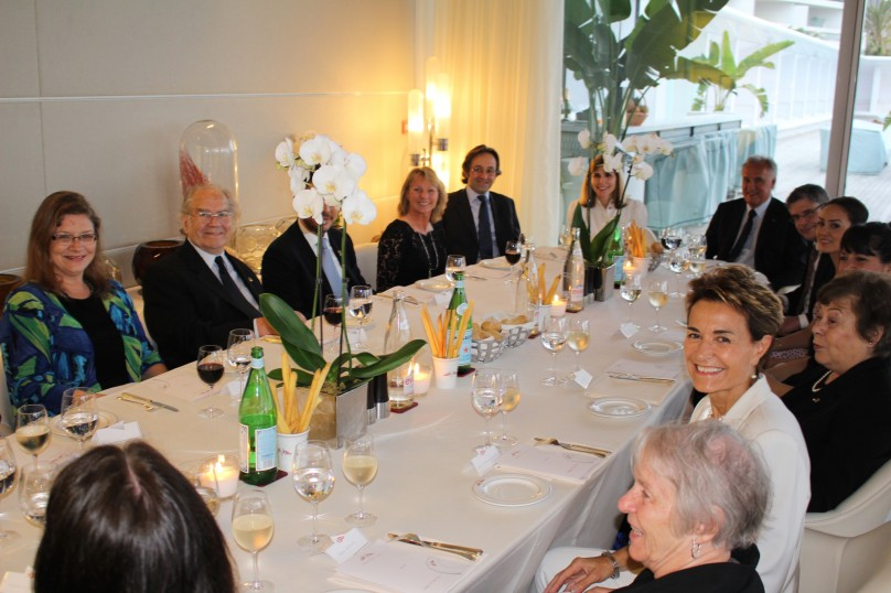Dinner hosted by Ribal Al-Assad of the Iman Foundation at YCM