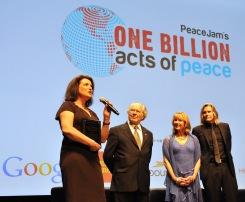 Isabelle Bonnal, Adolfo Perez Esquivel, Dawn Engle and Ivan Suvanjieff @Manuel Vitali