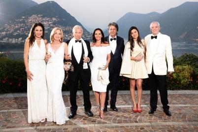 Sandrine Garbagnati-Knoell Brigitte Rink, Sergio Mantegazza, Ana Mantegazza, Daniela de Sosa and Alexander Pereira @5SE