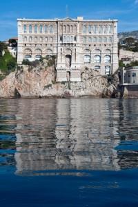 Façade du Musée océanographique de Monaco