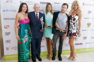 Federica Nardoni Spinetta, Mario Boselli, Carlotta Carobbi representing Versace, Igor Chapurin and Victoria Silvstedt @MCFW2015