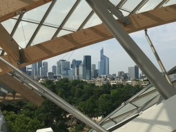 Framed view of downtown Paris at FLV @CelinaLafuenteDeLavotha2015