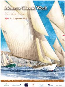 Monaco Classic Week 2015 flyer
