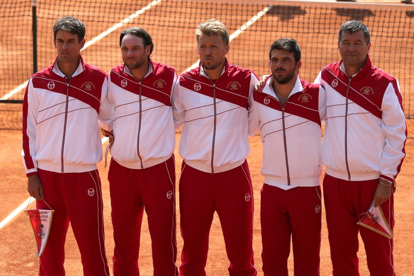 Monegasque Davis Cup Team 2015 @MTF.