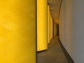 Olafur Eliasson - Gallery of Illuminated panels at FLV @CelinaLafuentedeLavotha2015