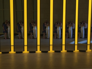 Olafur Eliasson - Our group photo reflection at FLV @CelinaLafuentedeLavotha