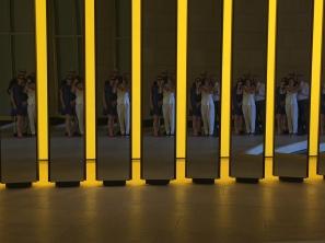 Olafur Eliasson - Our group photo reflection at FLV @CelinaLafuentedeLavotha
