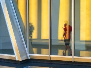Olafur Eliasson - Reflection of visitor's shadows at FLV @CelinaLafuenteDeLavotha2015