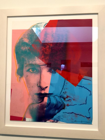 One of the portraits by Andy Warhol at FLV @CelinaLafuenteDeLavotha2015