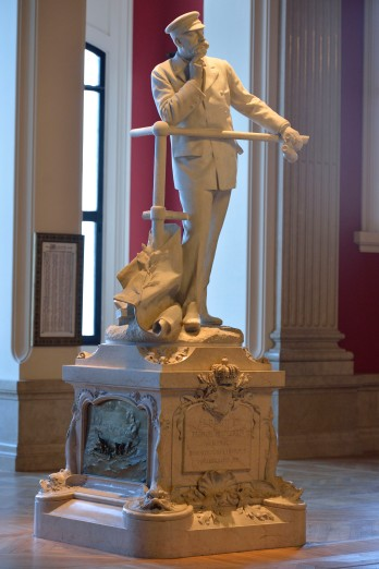 Statue of Prince Albert I of Monaco @MOM