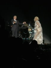 Tony Bennett and Lady Gaga singing together @CelilnaLafuenteDeLavotha