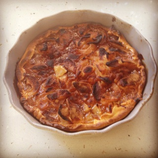 Delicious home made tart @CelinaLafuenteDeLavotha