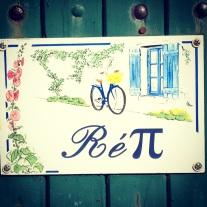 House sign in Ile de Re @CelinaLafuenteDeLavotha