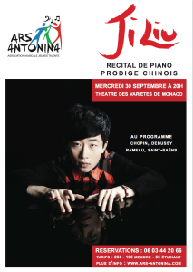 Ji Liu Piano Recital September 30 2015