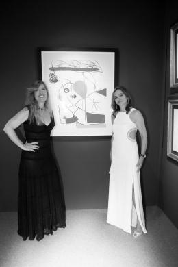 Marietta Vinci-Corsini and Valentina Vassileva @Nicolas Gavet, 2015