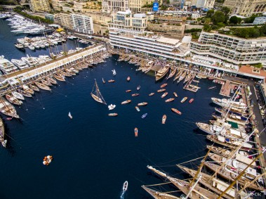 A bird's view of the Monaco Classic Week at the YCM MCC-JV-0047@mcclic