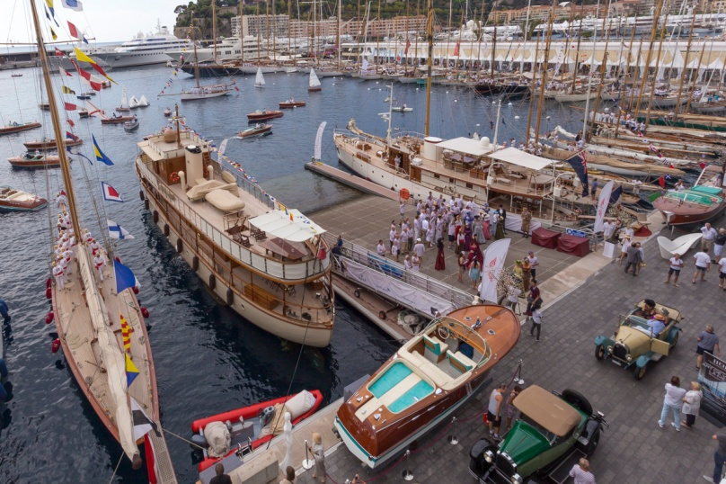 Elegance Festival on the Quay during Monaco Classic Week 2015 @SG 074761