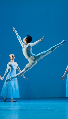 One of the students of the Academy of Dance Princess Grace who joined The Ballets de MC Photo credits @Alice Blangero