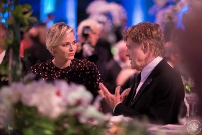 Princess Charlene and Robert Redford @Frederic Nebinger7