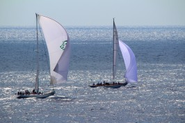 Regattas on the silver seas during MCW2015 @CelinaLafuenteDeLavotha