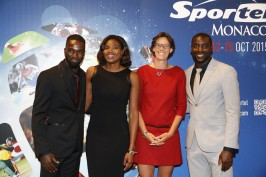 Kafétien Gomis, Muriel Hurtis, Tia Hellebaut, Ladji Doucouré @Sportel Awards photos