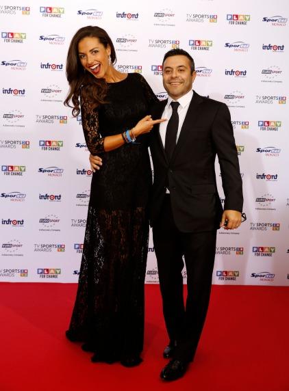 Laura Barriales and Andrea Radrizzani, TV SPORTS AWARDS Red Carpet @SportelMonaco2015 Photos