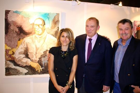 Laurence Garbatini, Jean-Pierre Pastor and Yvon Kergal @CelinaLafuenteDeLavotha