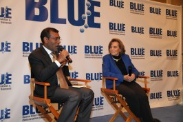 Nashed,Sylvia Earle at BLUE FF 2014 @BLUE photo archives