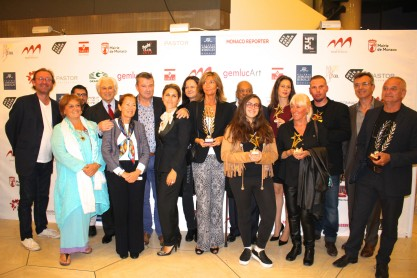 Organizers, members of the Jury and the award winners of GemlucArt 2015 @CelinaLafuenteDeLavotha