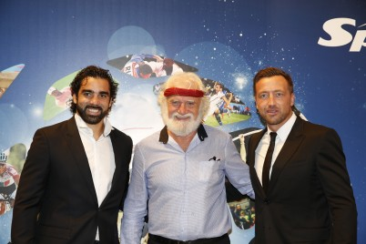 Yoann Huget, Daniel Herrero, Dan Luger @Sportel2015 Archives