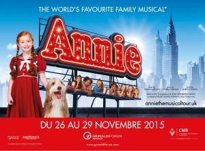 ANNIE at the Grimaldi Forum November 2015