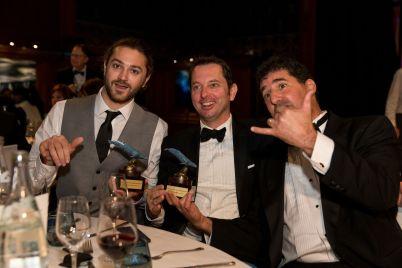 Chris Cilfone, Denis Jensen and David O.Brown @BLUE2015Monaco