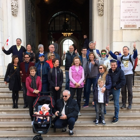 Friends of the Oceanographic Museum joining Robert Calcagno for the March for the Climate @Z.Lavotha