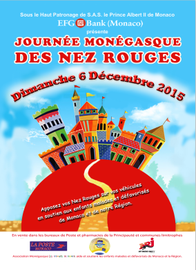 Red Nose Day in Monaco organised by Les Enfants de Frankie