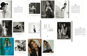 Pages of 10 years of Celebrating Women by Amedeo Turello