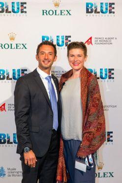 Pierre Frola and Alice Grainger @BLUE2015Monaco